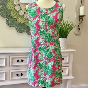 Vintage Lilly Pulitzer Tropical Floral Dress - H